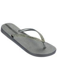 Ipanema Sparkle Flip Flop - Silver
