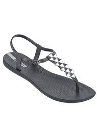 Ipanema Cleo Sandals - Grey & Silver