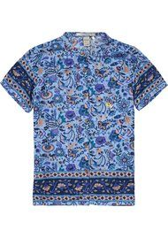 Maison Scotch Floral Shirt- Combo G