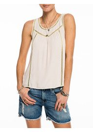 Maison Scotch Sleeveless Mesh Top - Blossom