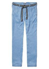 Maison Scotch Dolly Belted Pants -Sky Blue