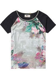 Maison Scotch Photo Printed T-Shirt - Combo A
