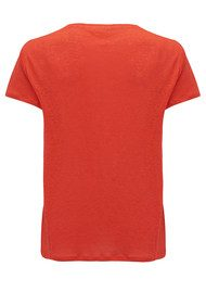 American Vintage Quincy Short Sleeve Tee - Red Pepper