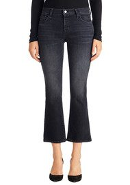 J Brand Selena Mid Crop Bootcut Jeans - Anthracite