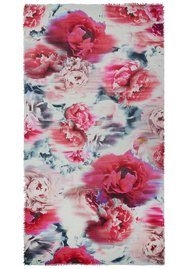 Lily and Lionel Lyra Silk Blend Scarf - Pink