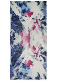 Lily and Lionel Regents Silk Blend Scarf - Multi