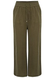 American Vintage Meadow Wide Leg Trousers - Military
