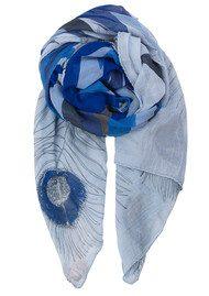 Becksondergaard Alexandria Cotton Scarf - Surf Blue