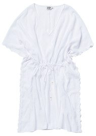 Twist and Tango Linda Kaftan - White
