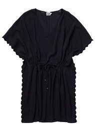 Twist and Tango Linda Kaftan - Black