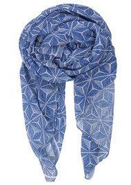 Becksondergaard Simisola Cotton Scarf - Surf Blue