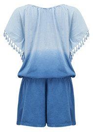 ALPHAMOMENT Ombre Playsuit - Pale Blue