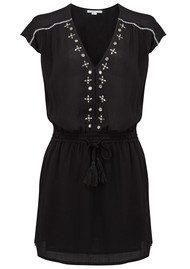 ALPHAMOMENT Embellished Dress - Black