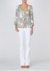 Twist and Tango Bea Blouse - Paisley Khaki