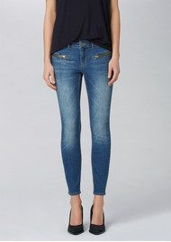 Twist and Tango Sid Ankle Jeans - Mid Blue Denim