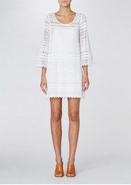 Twist and Tango Annie Lace Dress - White