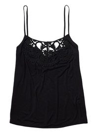 Twist and Tango Sally Singlet Top - Black