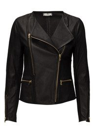 Day Birger et Mikkelsen  Day Cecilie Leather Jacket - Black