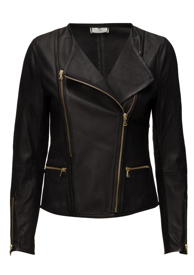 Day Birger et Mikkelsen  Day Cecilie Leather Jacket - Black main image