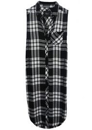 Rails Jordyn Shirt Dress - Ebony & White
