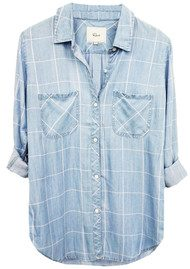 Rails Carter Shirt- Light Vintage Wash