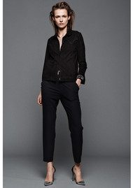 CUSTOM MADE Muno 2nd Trousers - Anthracite Black