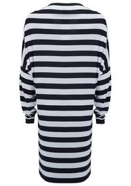 KAMALI KULTURE All In One Dress - Midnight White Stripe