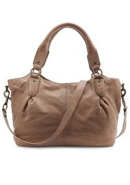 Liebeskind Dominique Leather Bag - Stone