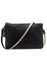 Liebeskind Celia Vintage Metallic Bag - Black