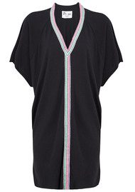 PITUSA Mini Abaya Dress - Black