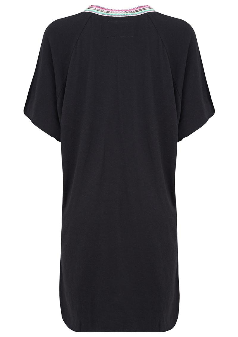 PITUSA Mini Abaya Dress - Black main image