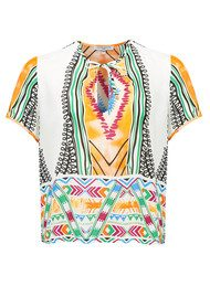 VALERIE KHALFON Foster Printed Top - Multi