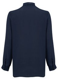 NEW LILY Zoe Shirt Blouse - Navy