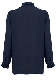 NEW LILY Zoe Shirt Blouse - Navy
