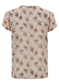 NEW LILY Jade Top - Rose Flower