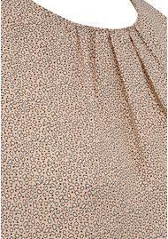 NEW LILY Tawana Blouse - Nude Print