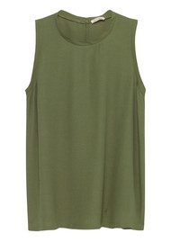 American Vintage Abysville Tank Top - Olive