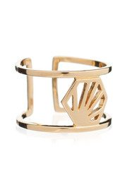 RACHEL JACKSON Adjustable Hexagon Ring - Gold