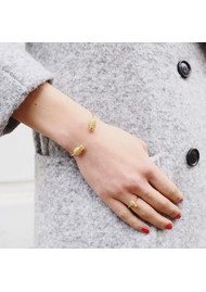RACHEL JACKSON Pineapple Bangle - Gold