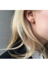 RACHEL JACKSON Pineapple Stud Earrings - Gold