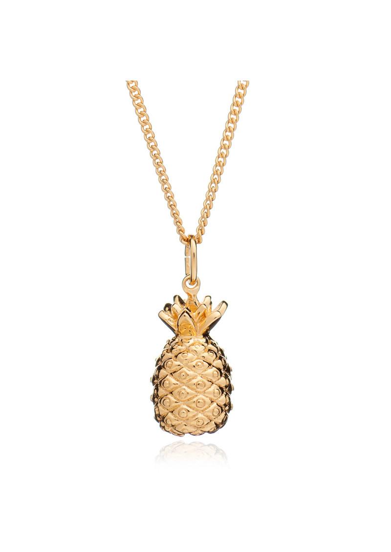 RACHEL JACKSON Pineapple Pendant Necklace - Gold main image