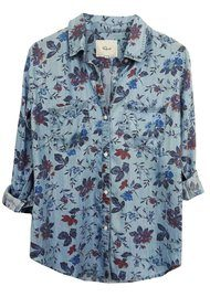 Rails Carter Shirt - Bouquet Overdye