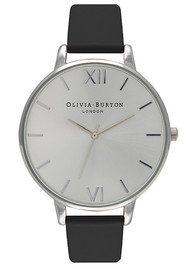 Olivia Burton Big Dial Watch - Black & Silver
