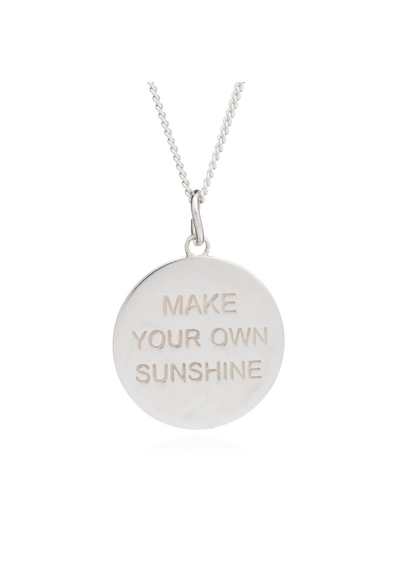 Rachel jackson make your own sunshine necklace silver rachel jackson make your own sunshine necklace silver main image loading zoom aloadofball Images