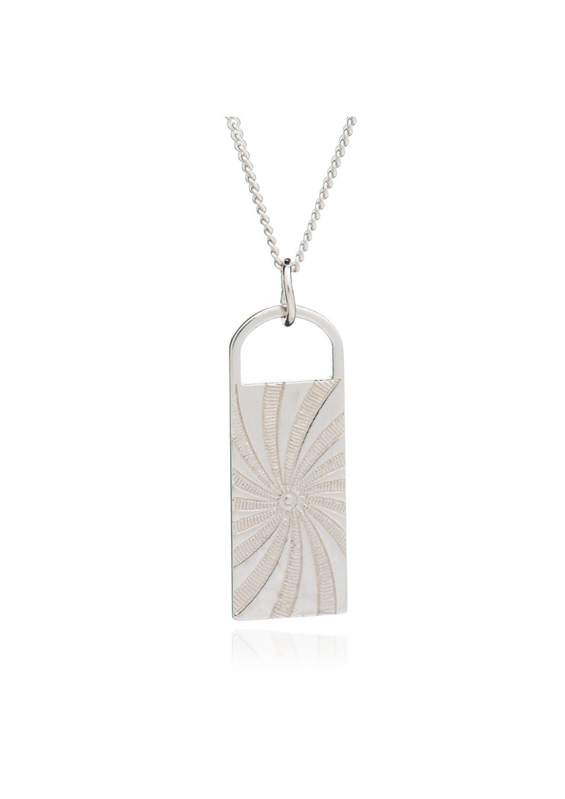 RACHEL JACKSON Stay True To Yourself Necklace - Silver main image