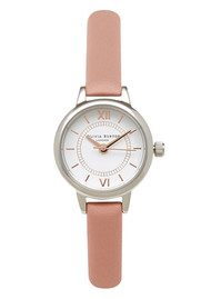 Olivia Burton Mini Wonderland Watch - Dusty Pink, Silver & Gold