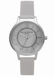 Olivia Burton Wonderland Watch - Grey & Silver