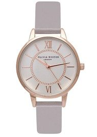 Olivia Burton Wonderland Watch - Grey Lilac, Rose Gold & Silver