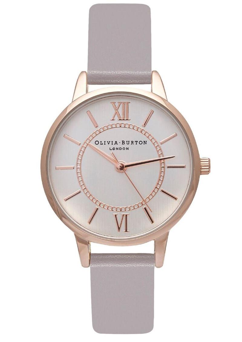Olivia Burton Wonderland Watch - Grey Lilac, Rose Gold & Silver main image