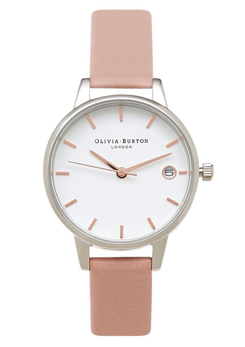 Olivia Burton The Dandy Midi Dial Watch - Pink, Silver & Rose Gold main image